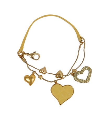 golden necklace Stock Photo - 17017556