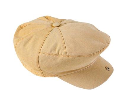 yellow cap Stock Photo - 17014464