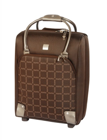 suitcase isolated on white Stock Photo - 17014466