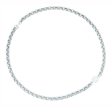 silver chain Stock Photo - 17014471