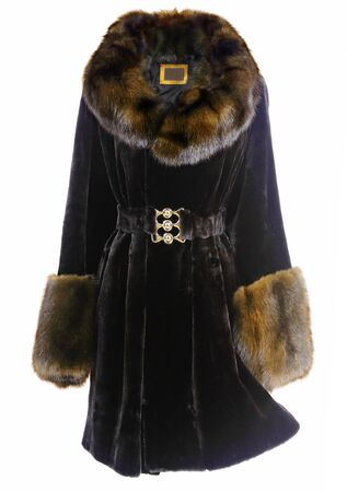 fashion fur coat photo