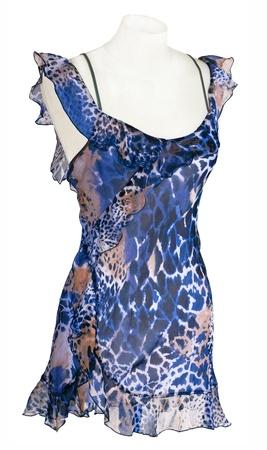 peignoir: silk peignoir Stock Photo