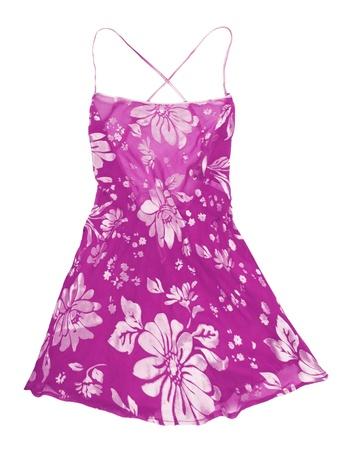 nightdress: silk peignoir Stock Photo