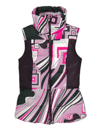 waistcoat: pink waistcoat Stock Photo