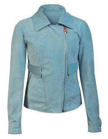 blue jacket Stock Photo - 17077829