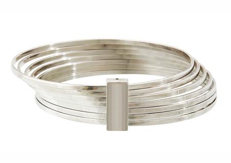 jewelle: silver bracelet