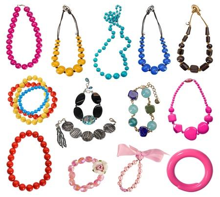 collection de colliers