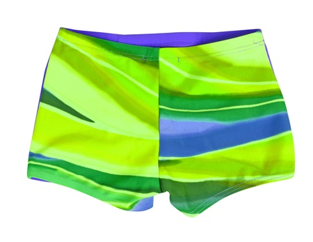 green shorts Stock Photo - 17503937