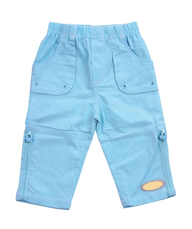 breeches: blue breeches