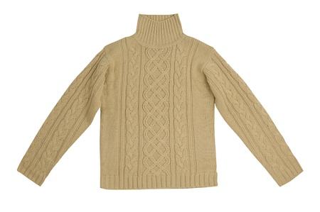 beige sweater Stock Photo - 17621698