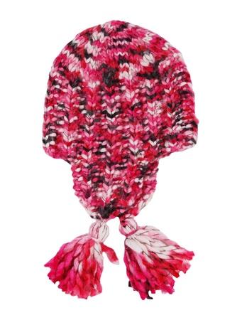 knitten: red cap Stock Photo