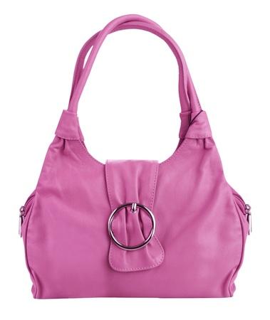 cosmetics bag: pink bag