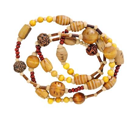 pedant: yellow beads