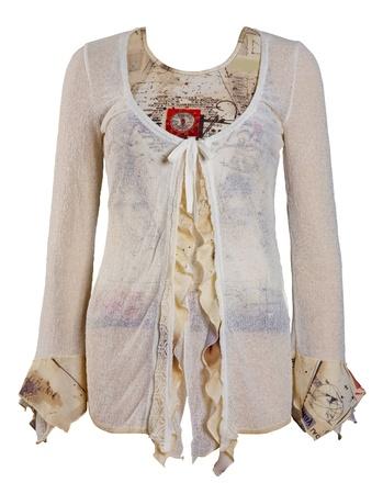 fashion jacket isolated on white photo