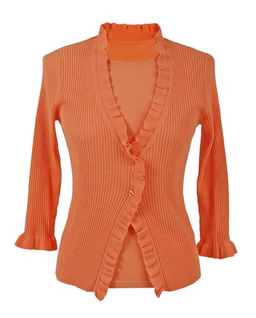 orange blouse photo