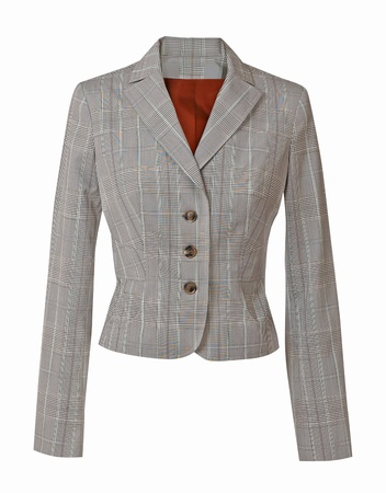 gray jacket photo