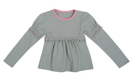 gray blouse Stock Photo - 18957845