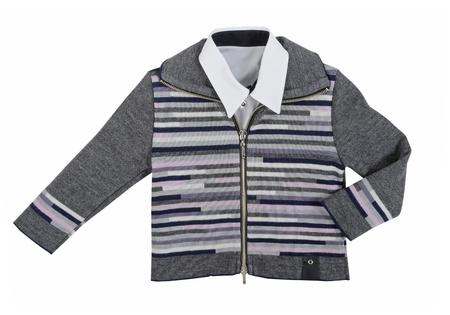 gray jacket Stock Photo - 18957849