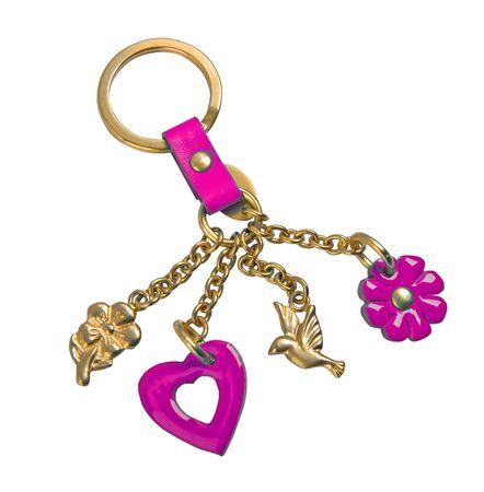 golden keychain Stock Photo - 19060831