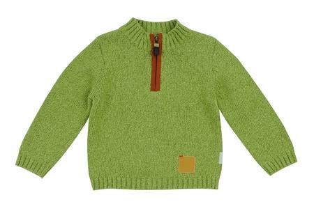 green jacket Stock Photo