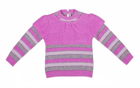 pink sweater Stock Photo - 19129466