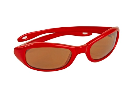 red sunglasses photo