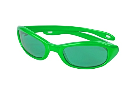 green sunglasses photo