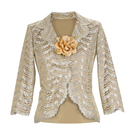 frock coat: lace blouse