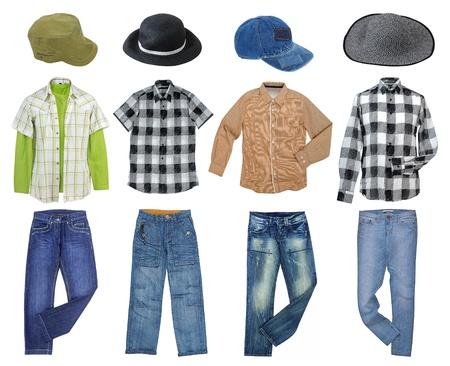 Mann s Kleidung Sammlung