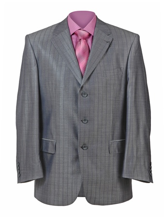 men  business suit jacket photo
