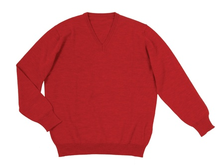 red sweater photo