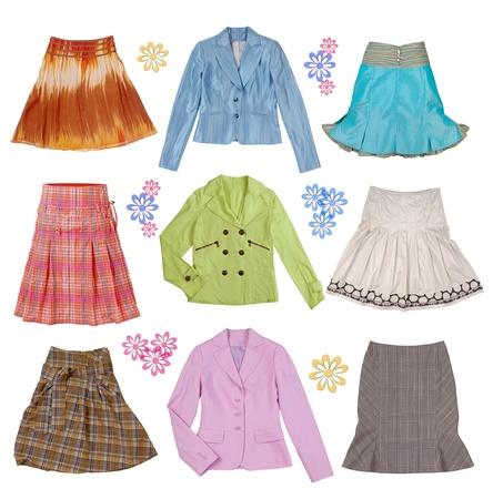 colecci�n de ropa de mujer photo