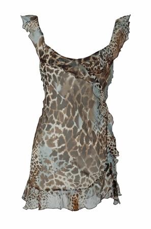 peignoir: leopard peignoir