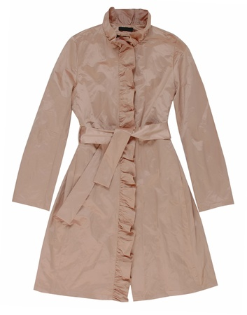 beige coat photo