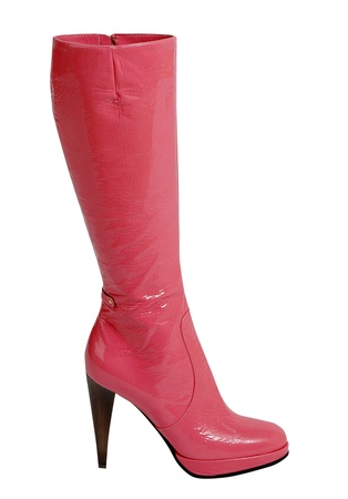 pink boot photo
