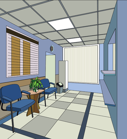 hospital interior: ospedale interno