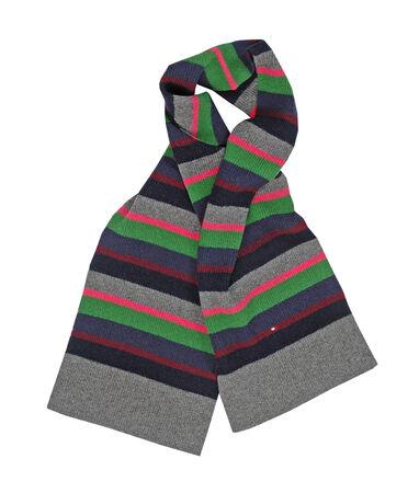 wool striped scarf photo