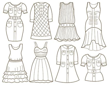 moda casual: colecci�n de las mujeres de moda