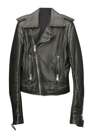 Zwarte jas geïsoleerd op een witte achtergrond