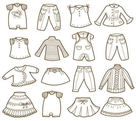 ropa de verano: colecci�n de ropa de los ni�os