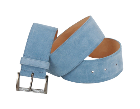 suede belt: fashion belt  isolated on white