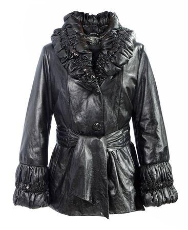black: black jacket Stock Photo