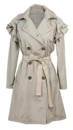 of beige: beige coat