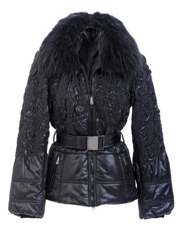 jupe: black jacket Stock Photo