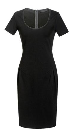 habiliment: black dress