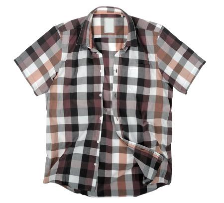 checkered polo shirt: shirt polo Stock Photo