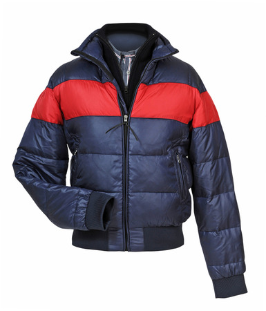 jupe: jacket isolated on white Stock Photo