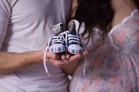motherhood: Young couple prepares for motherhood
