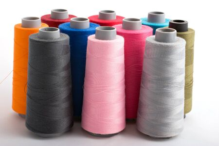bobin threads in many colors