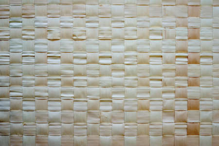 background of wooven chinese bamboo mat